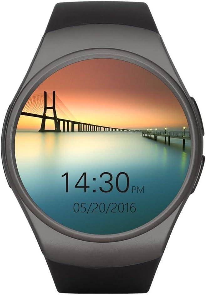 Teléfono con Bluetooth Smart Watch King-Wear KW18 Tarjeta SIM con ...