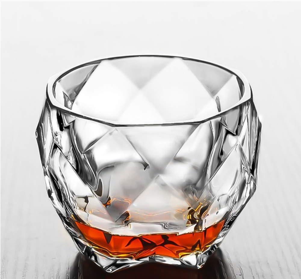 UKE Whisky Vaso Bajo, Sin Plomo Vidrio Cristalino De La ...