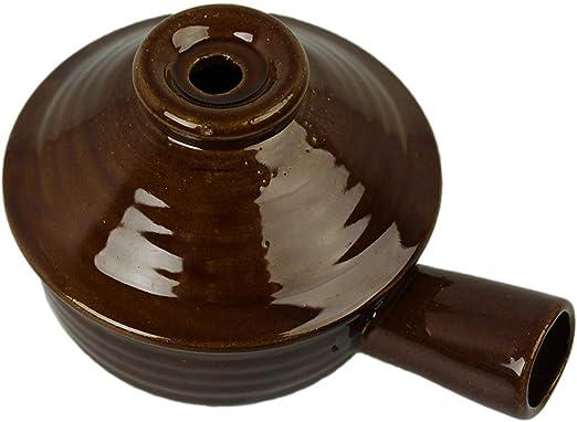 Rubyz - Olla de cerámica para microondas con tapa de vapor: Amazon ...