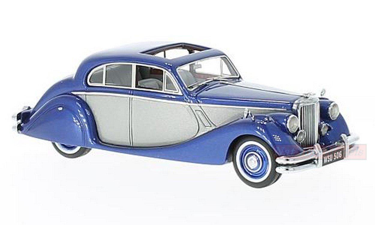 conveniente NEO SCALE MODELS NEO49544 JAGUAR MK V 1950 azul azul azul plata 1 43 MODELLINO DIE CAST  barato