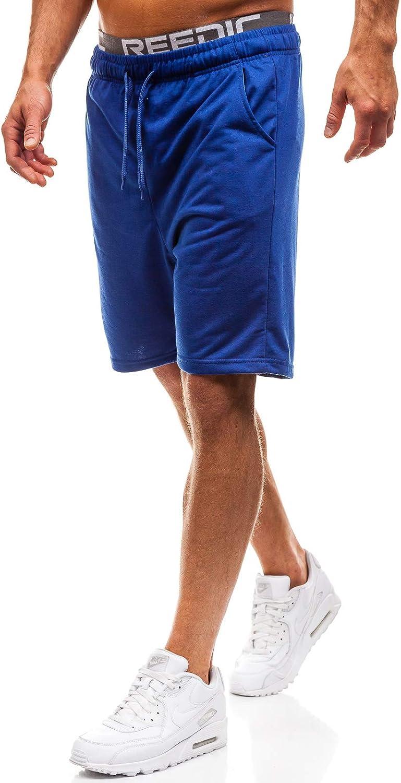 Estivi Ombre Stampe da Uomo Mix 7G7 di Tuta di Moda BOLF Pantaloncini Corti