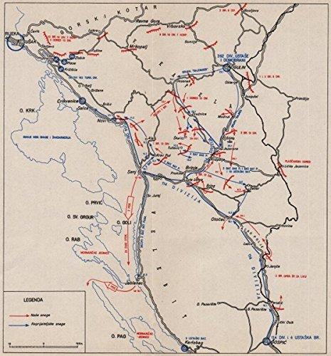 Administrative Map Of Croatia
