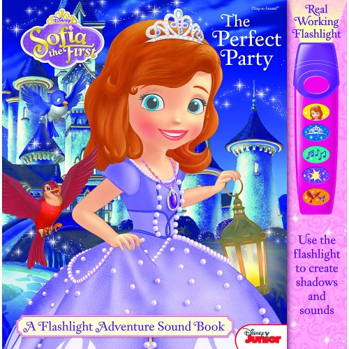 Flashlight Adventure Book: Sofia The First The Perfect Party ()