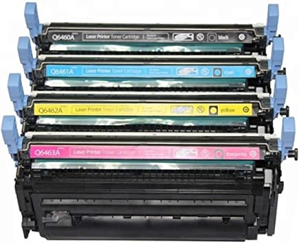 Amazon Com Compatible For Hp 4730 Toner Cartridges Combo 4pk Bcmy For 4730x Mfp 4730xm Mfp Cm4730f Cm4730fsk Office Products