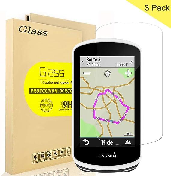 3 Unidades] Garmin Edge 1030 Protector de Pantalla, AOLANDER Cristal Vidrio Templado Premium [9H Dureza][Alta Definicion 0.3mm] [Anti Arañazos] Tempered Glass Para Garmin Edge 1030: Amazon.es: Electrónica