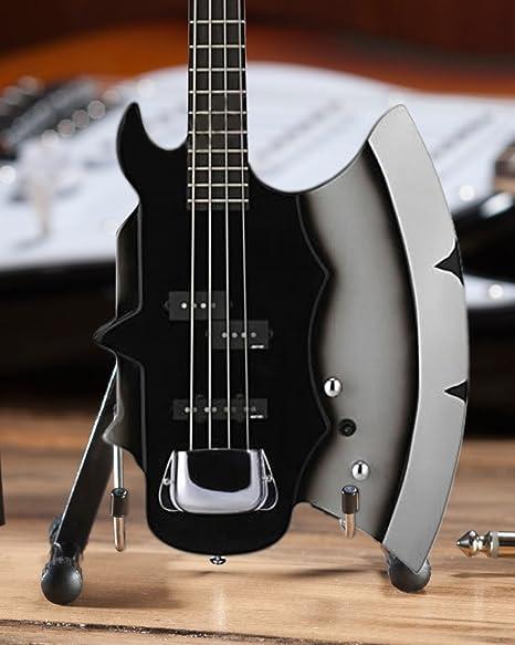 Hacha HEAVEN con licencia oficial Kiss Gene Simmons hacha de firma Bass guitarra en miniatura de