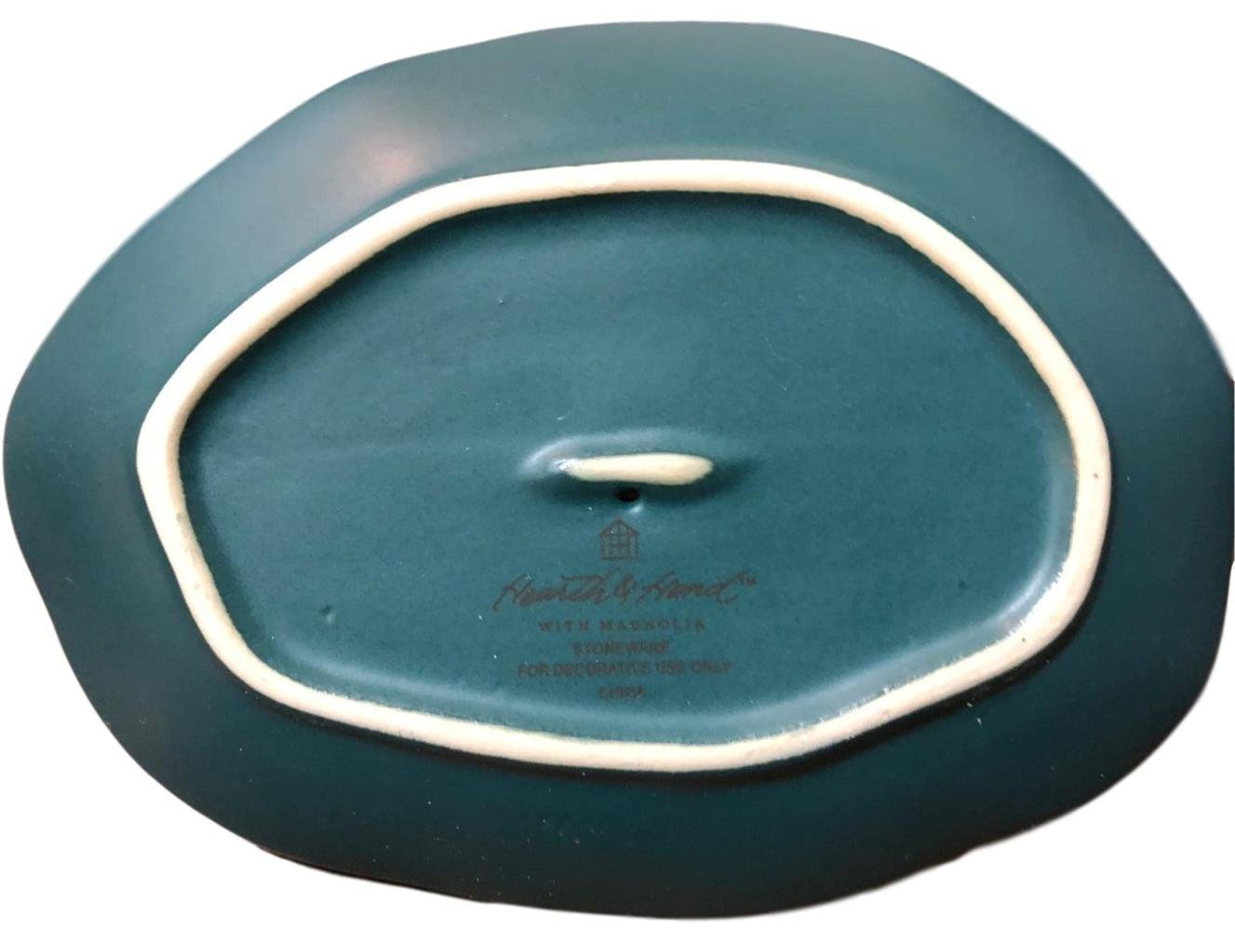 Hearth and Hand Magnolia Ring Tray Stoneware Cream Love Mother Day Collection by Hearth & Hand Magnolia (Image #4)