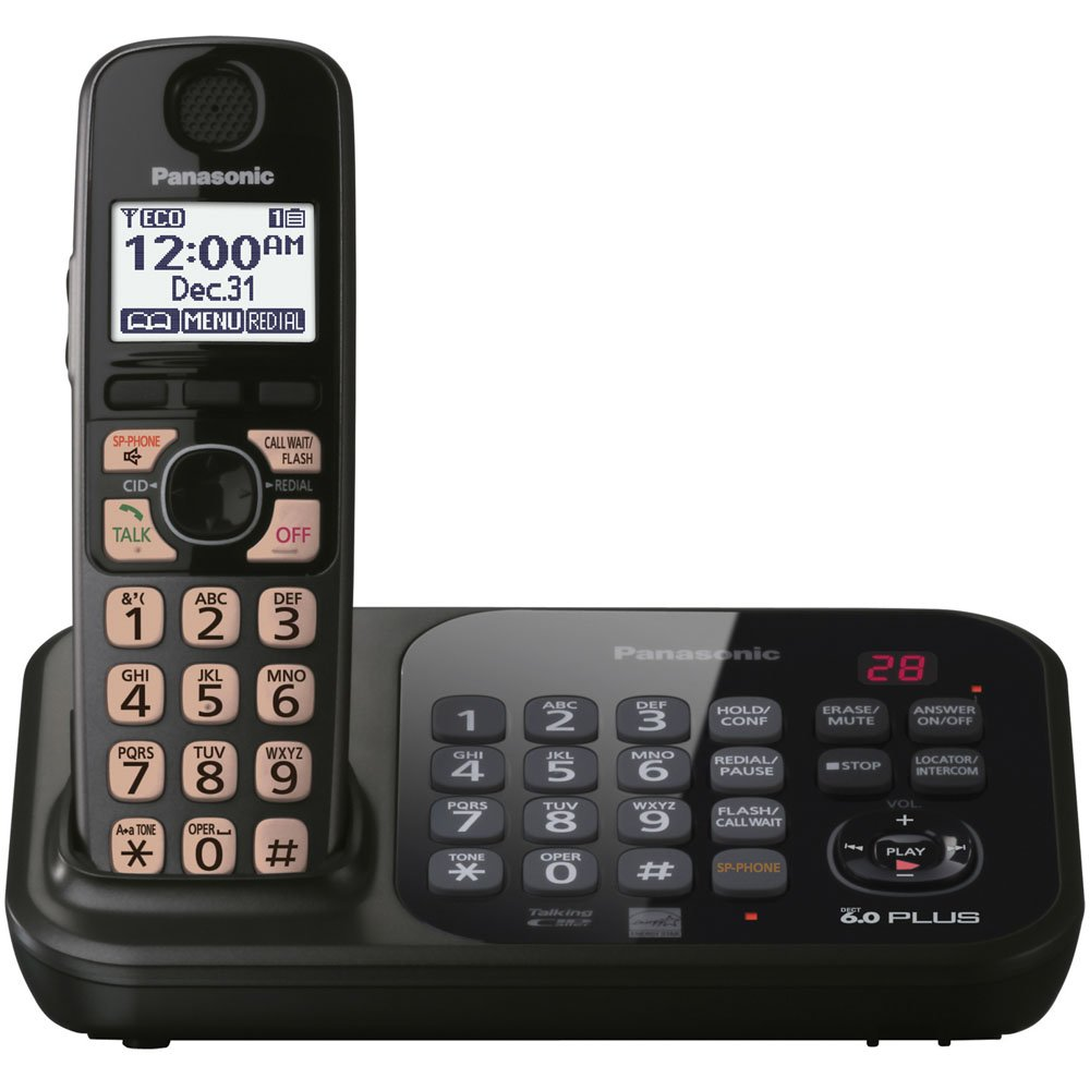تلفن بی سیم پاناسونیک مدل Panasonic cordless phone KX-TG4741