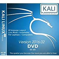 Kali Linux 64 Bit 2016.2 DVD (DVD)