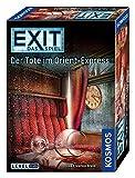 """KOSMOS Spiele 694029 - """"EXIT - Spiel: Tote im Orient-Express"""" Brettspiel"""