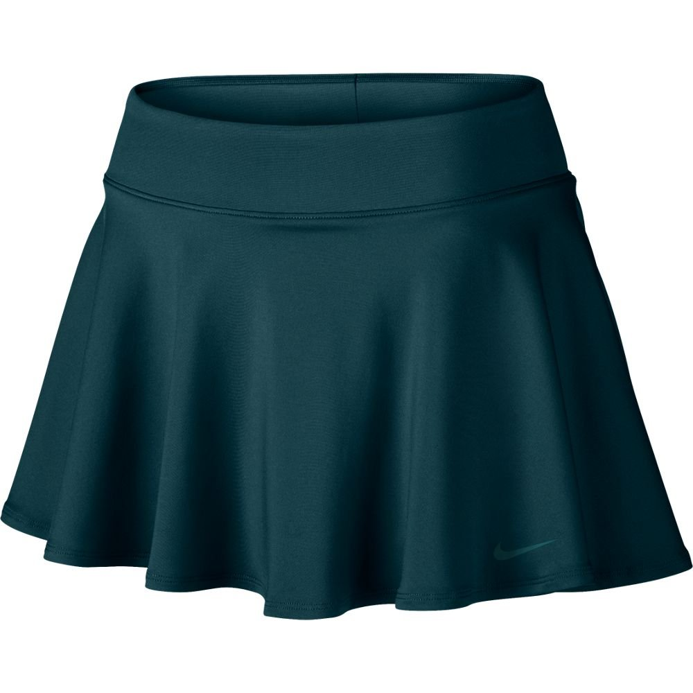 Nike Women's Court Baseline Tennis Skirt, Midnight Turquoise, MD X 3