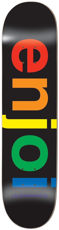 【SPECTRUM BLACK 8.0】ENJOI/エンジョイ スケートボードデッキ/DECK スケボーSK8   B0081ZDA08
