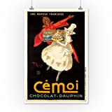 Cemoi Chocolat - Dauphine Vintage Poster