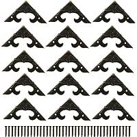 * -50 stuks decoratieve doos hoekbeschermer driehoek-ontwerp decoratieve hoekbeugels en stoelen kast hoek guard rand…