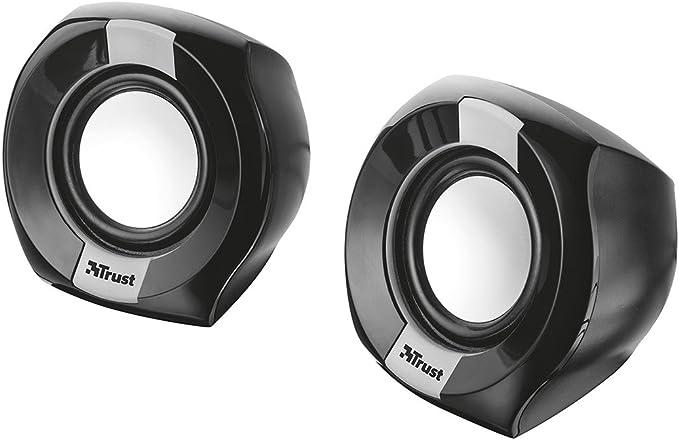 Trust Polo - Altavoces de PC 2.0 compactos de 8W, Negro: Amazon.es ...