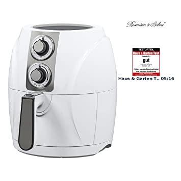 Rosenstein & Söhne – Freidora de aire caliente HF de 270 para fritos Tenore, ...