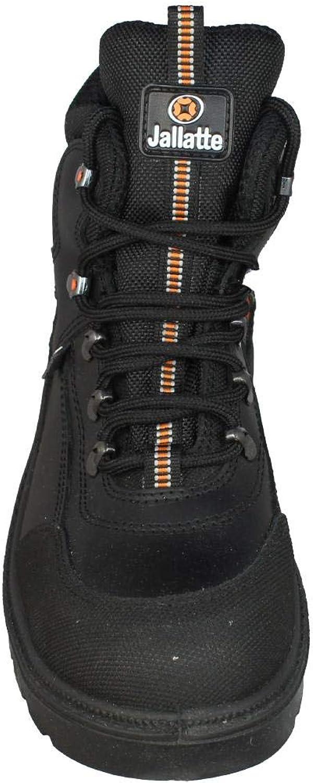 Jalkey SAS S3 Chaussures de s/écurit/é SRC Travail Chaussures Haut Noir