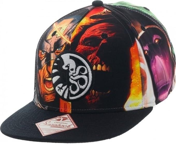 Marvel Gorra de b¨¦isbol - - Escudo / Hydra VS. Sombrero de ...