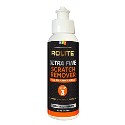 Ultra Fine Scratch Remover for Plastic & Acrylic Surfaces Including Marine Strataglass & Eisenglass, Headlights, Aquariums: Industrial & Scientific