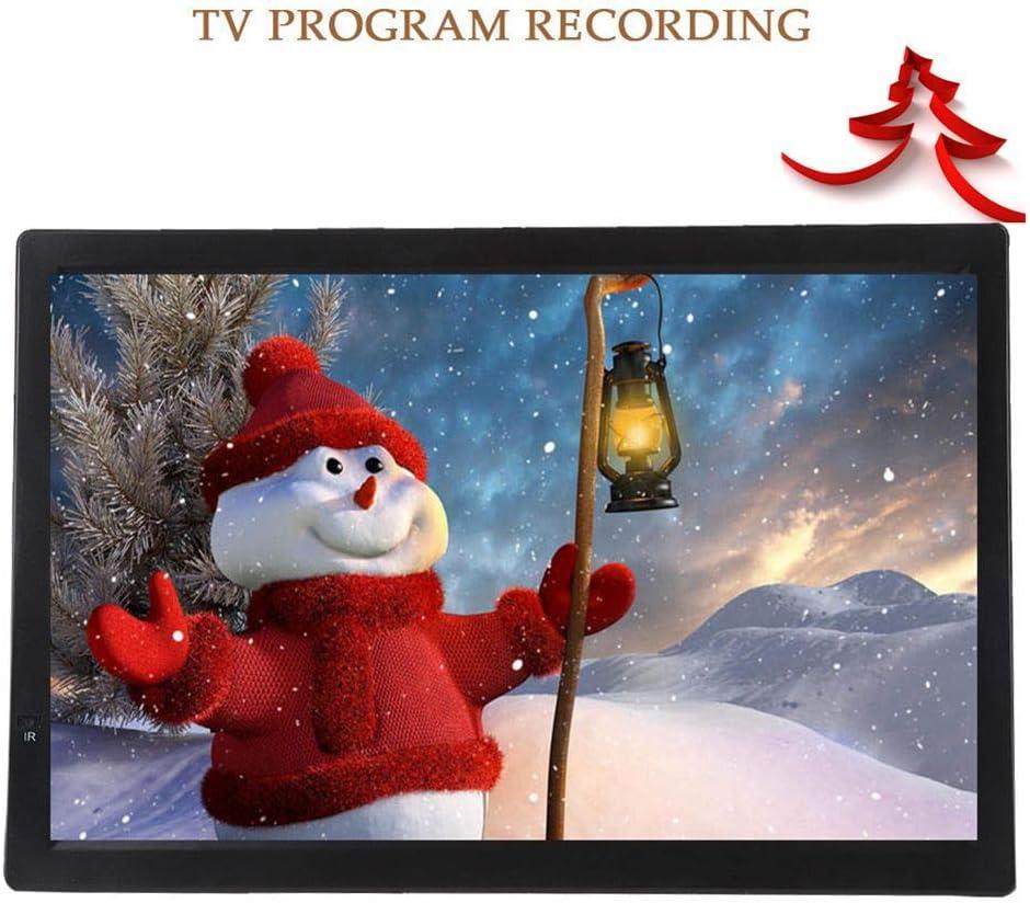 ASHATA 14 inch Televisión Portátil,TFT-LED TV Digital para Coche,HDTV LCD 1080P Televisor Grabador PVR y Reproductor Multimedia, Compatible con MKV,MOV,AVI,WMV,FLV,MPEG1-4,RMVB,MP3,Apoyo AV/Tarjeta SD: Amazon.es: Electrónica