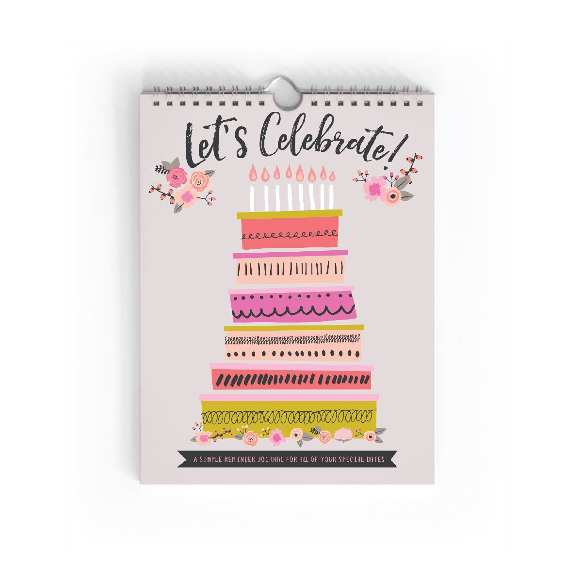 Let's Celebrate! Birthday Journal by Lucy Darling