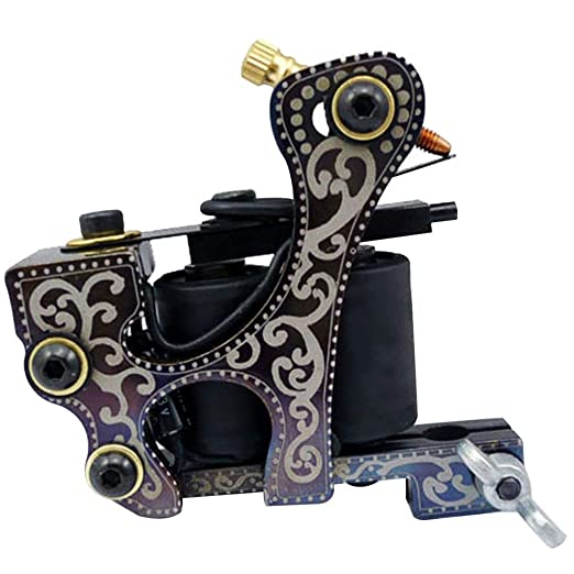 Principiantes Kits de Tatuaje Acero al Carbono Tatuaje Motor 3.5 ...
