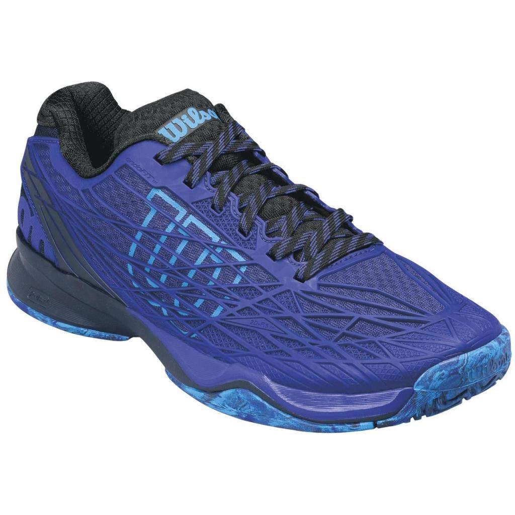 Wilson WRS322360E095, Zapatillas de Tenis para Hombre, Azul (Spectrum Black/Brilliant Blue), 44 EU