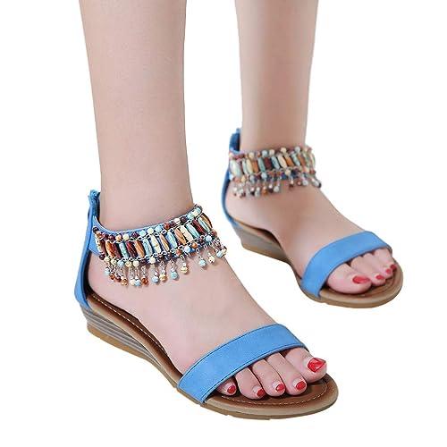 17211256926f Todaies Low Heels Wedges Sandals