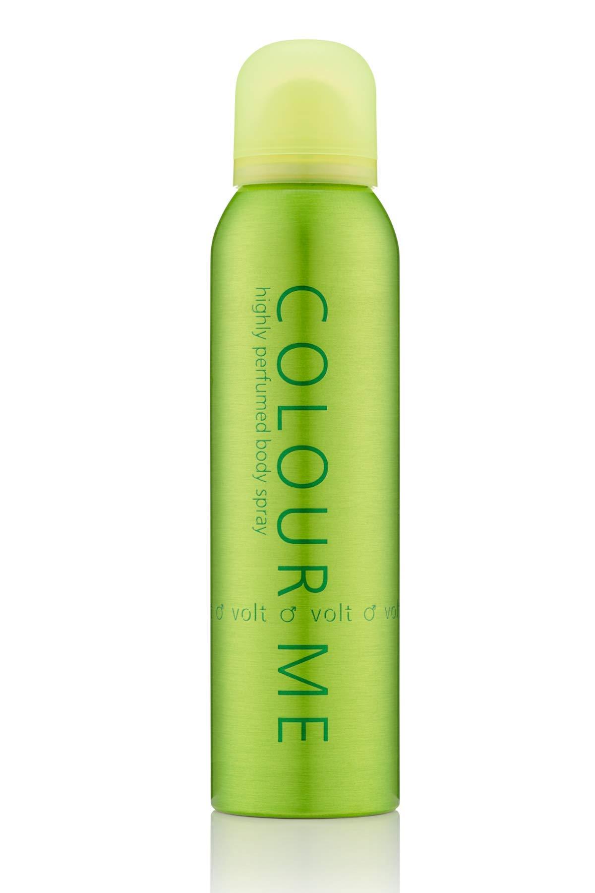 Colour Me Volt - Fragrance for Men - 150ml Body Spray, by Milton-Lloyd