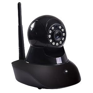 Tangkula Home Security Camera 720P Wireless Wifi HD Webcam CCTV IR Security Camera with Night Vision