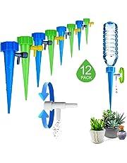 12Pezzi Irrigazione a Goccia, Giardino Gocciolante Gocciolatore Cono Versatore DIY Automatico Irrigazione Piante, Fiori, Bonsai, Dispositivo Irrigazione Domestica, Automatica e Scientifica (Style 1)