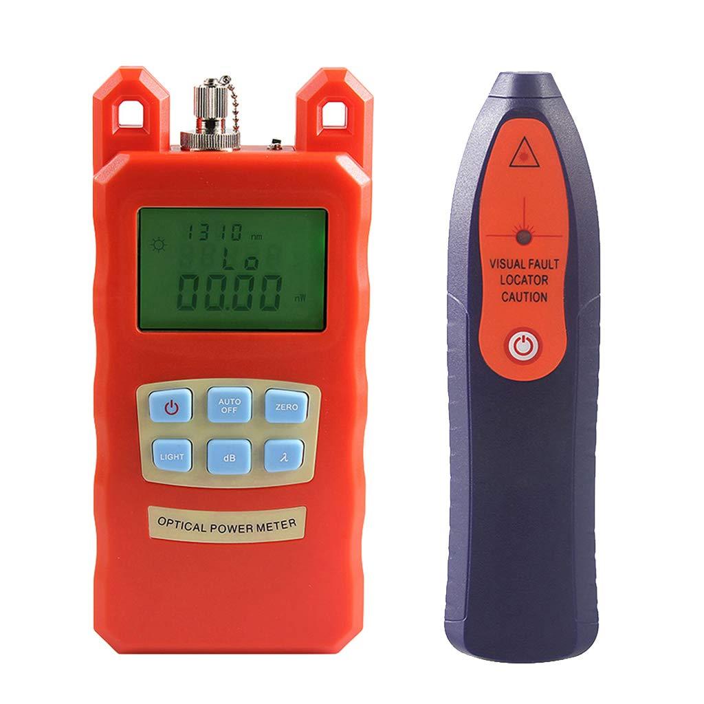 Baosity AUA-70C Portable Optical Fiber Power Meter Tester Measure -70dBm~+10dBm + 20mW 15KM Visual Fault Locator Fiber Tester Detector Meter Pen Tools by Baosity (Image #4)