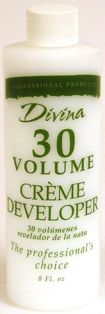 Divina Cream Developer - 30 Volume 8 oz. Naturally Sheet Mask, Vitamin C, 5 Ct