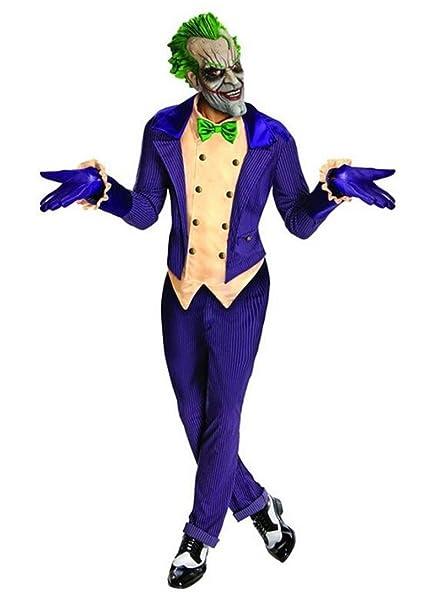 stail tienda Hombres de Arkham City Joker morado traje ...