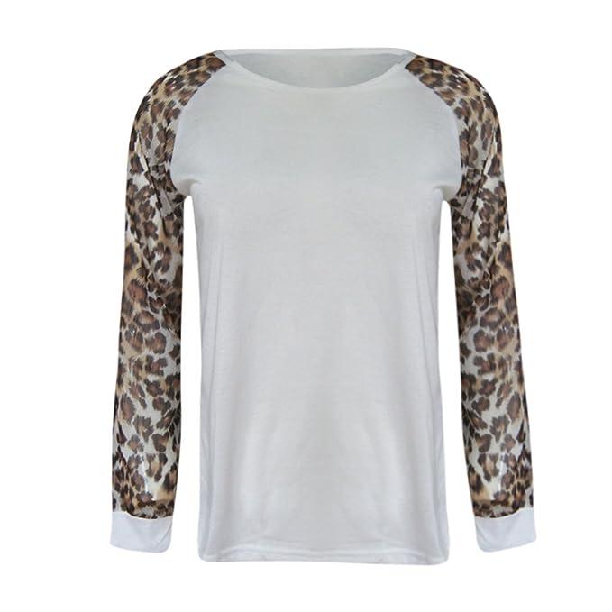 Camiseta de Manga Larga para Mujer, BBestseller Ropa Camisetas Mujer, Blusa de Verano de