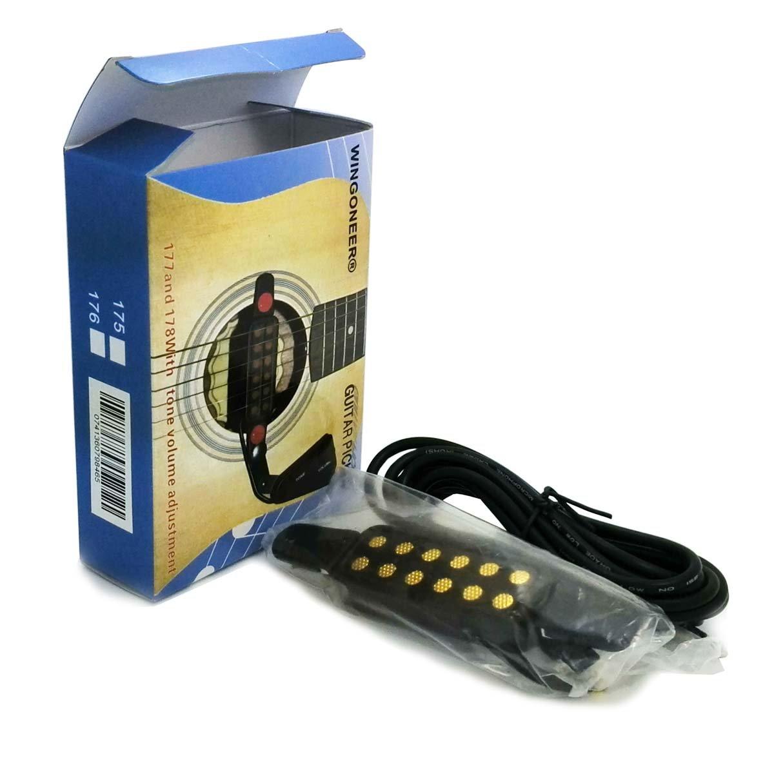 WINGONEER Tonabnehmer für Akustik Gitarren Pickup