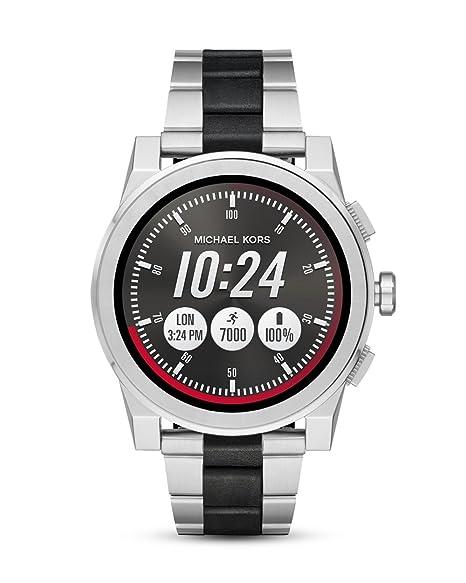 Michael Kors Reloj Analogico para Unisex de Cuarzo con Correa en Acero Inoxidable MKT5037
