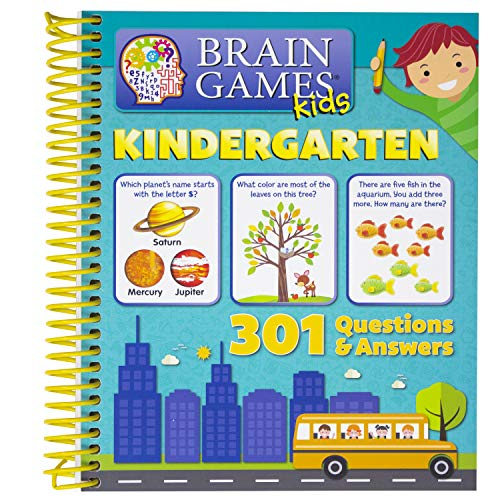Brain Games Kids: Kindergarten Activity Workbook - PI Kids