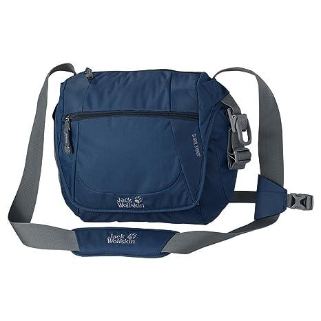 8105a6c140 Jack Wolfskin Jungle Bag 15 Messenger Bag One Size Dark Teal: Amazon.ca:  Luggage & Bags