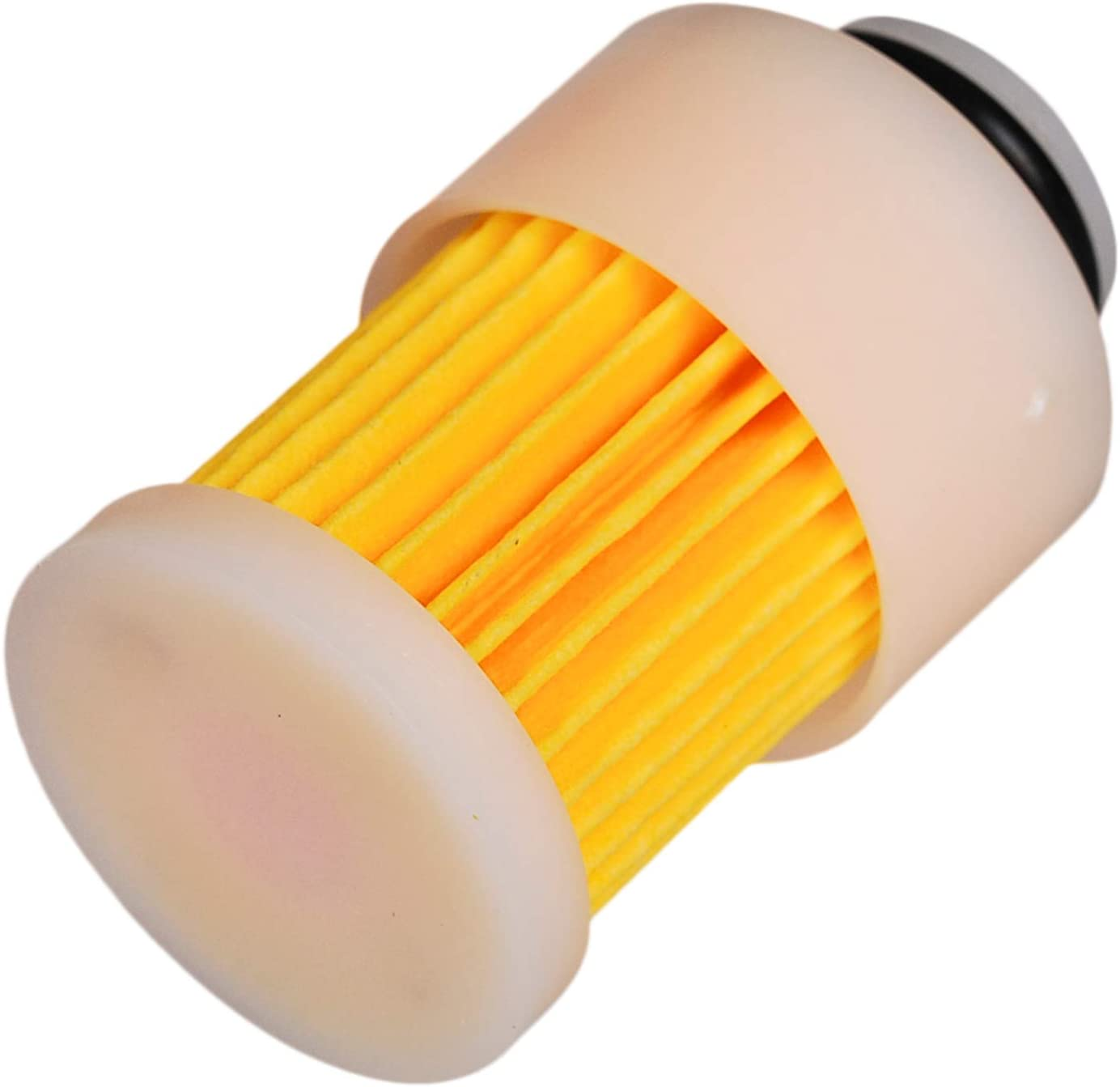 HIFROM Fuel Filter Replacement for 4 Stroke Yamaha Mercury Outboard Motor F50TLRD F60TJRD F60TLRD T60TLRD F75TLRD F90TJRD F115TLRZ F115TLRD LF115TXRD 68V-24563-00-00 881540 18-7979 (Pack of 4)