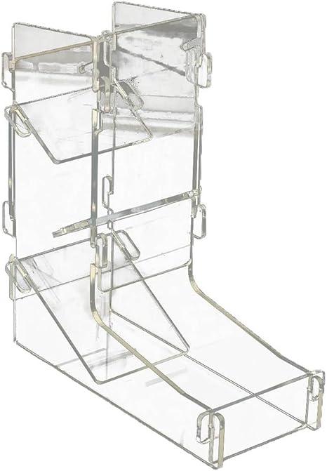 Romote Juego de mesa de juguete de acrílico transparente para ...