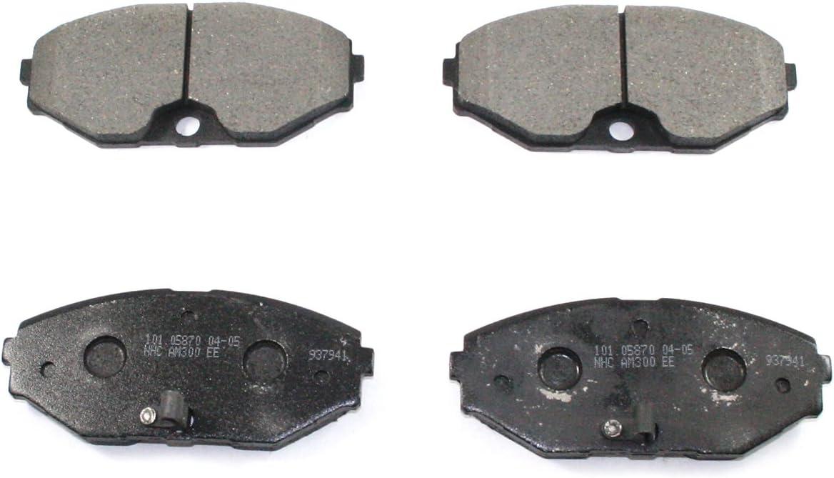 Bosch BP587 QuietCast Premium Front Disc Brake Pad Set