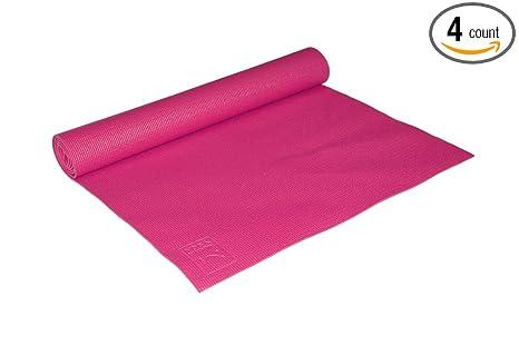 Amazon.com : MAHA Yoga Mats - Pink - 5mm - 4pk : Sports ...