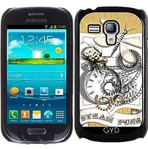 Funda para Samsung Galaxy S3 Mini (GT-I8190) - Libélula Steam Punk Con Temas by Blingiton