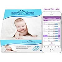 Easy@Home Ovulation Test Strips (50-pack), FSA Eligible Ovulation Predictor Kit, Powered by Premom Ovulation Calculator iOS and Android APP, 50 LH Tests