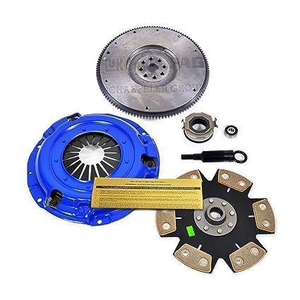 Amazon.com: EFT STAGE 4 CLUTCH PRO-KIT& FLYWHEEL for SUBARU IMPREZA FORESTER LEGACY 2.5L EJ25: Automotive