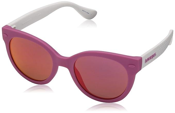 Havaianas NGOLDNHA/S VQ 22U 47, Gafas de Sol para Niñas ...