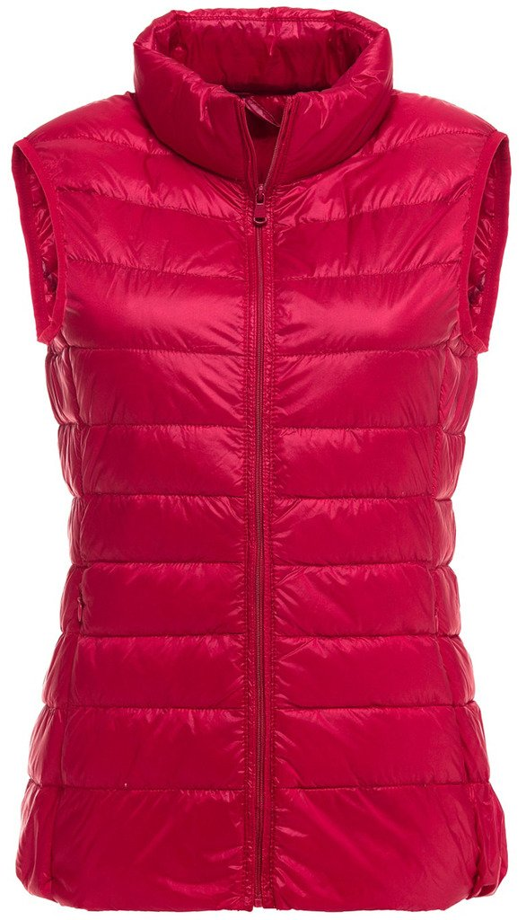 Sawadikaa Women's Padded Ultra Light Packable Pillow Puffer Down Vest Bodywarmer