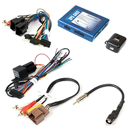 amazon com: pac rp5-gm31 radio replacement interface with built-in onstar  retention/steering wheel control retention/navigation outputs for select gm  lan