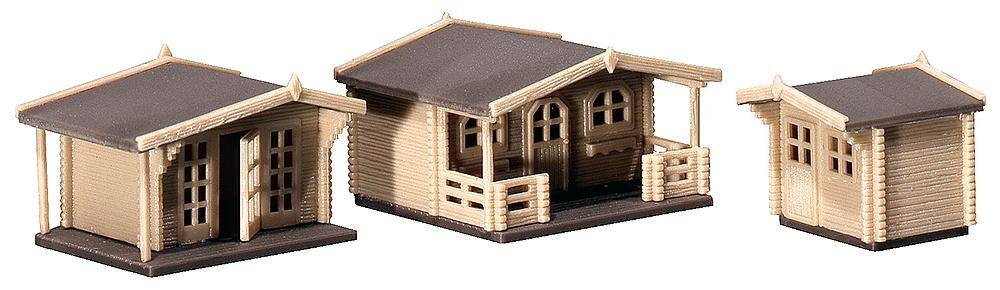 Awesome Faller 232209 Summer Houses 3 N Scale Building Kit Download Free Architecture Designs Grimeyleaguecom